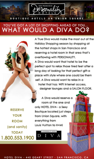 E-mail Marketing de Natal para Hotel
