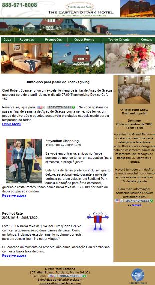 Newsletter para Hotel